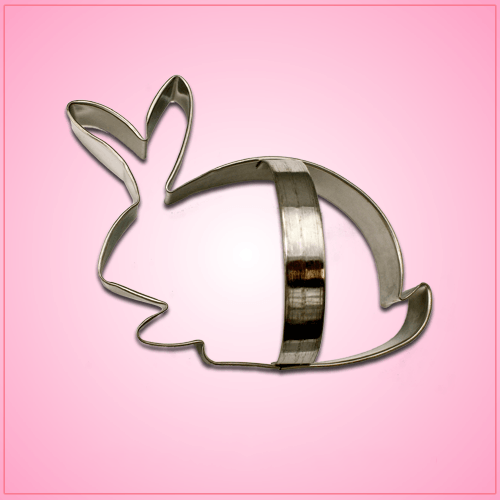 Rabbit Cookie Cutter with Handle