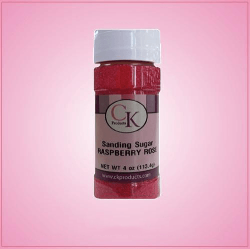 Raspberry Rose Sanding Sugar