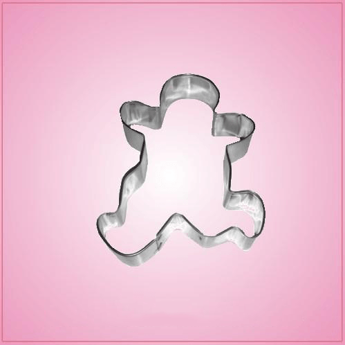 Running Gingerbread Man Cookie Cutter