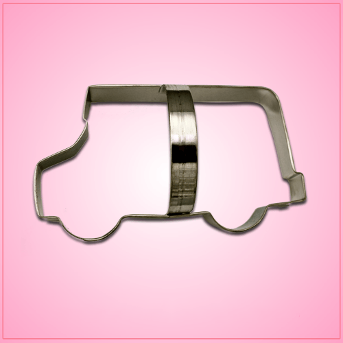 School Bus Cookie Cutter with Handle