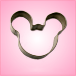Small Silver Mickey Mouse Cookie Cutter