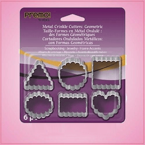 Small Crinkle Cookie Cutter Set