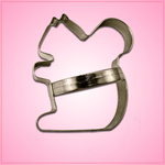 Squirrel Cookie Cutter with Handle