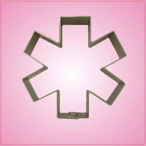Star of Life Cookie Cutter