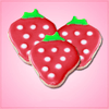 Mini Strawberry Cookie Cutter