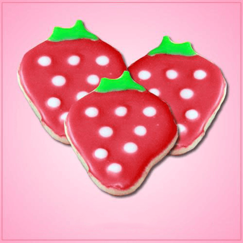 Frosted Strawberry Cookies Cheap Cookie Cutters