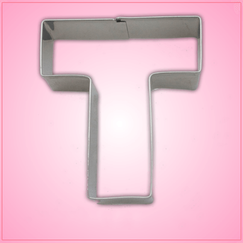 Letter T Cookie Cutter