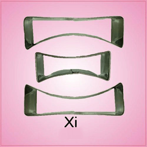 Xi Cookie Cutter