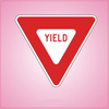 Yield Sign Cookie Cutter