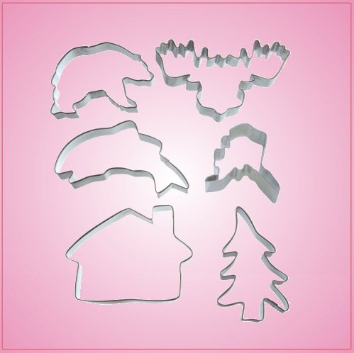 Alaskan Cookie Cutter Set 2