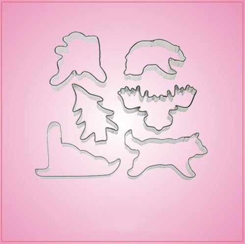 Alaskan Cookie Cutter Set