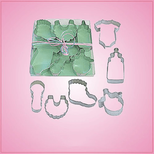 Baby Shower Cookie Cutter Set