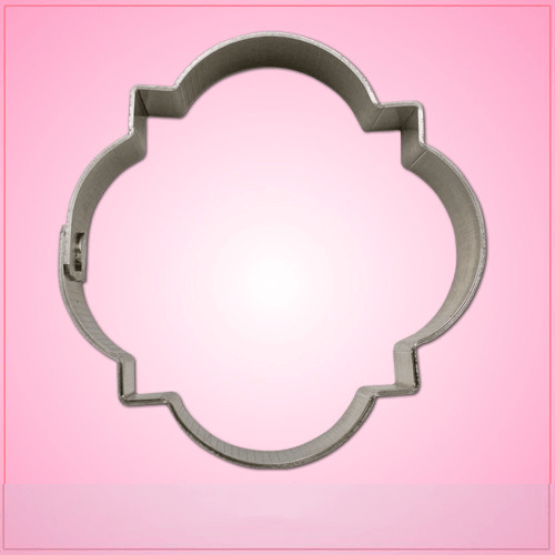 Barbed Quatrefoil Cookie Cutter