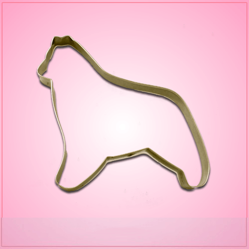 Belgian Sheepdog Cookie Cutter