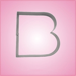 Big Letter B Cookie Cutter