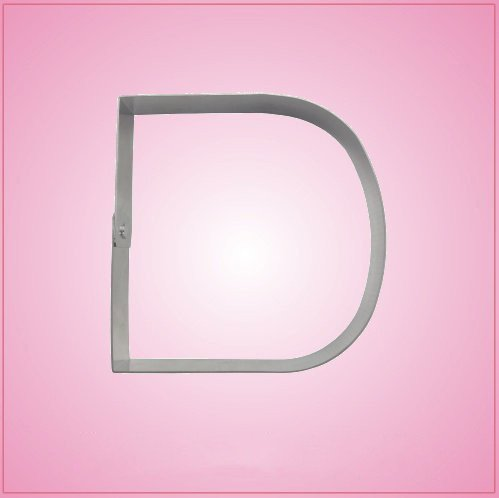 Big Letter D Cookie Cutter