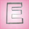 Big Letter E Cookie Cutter