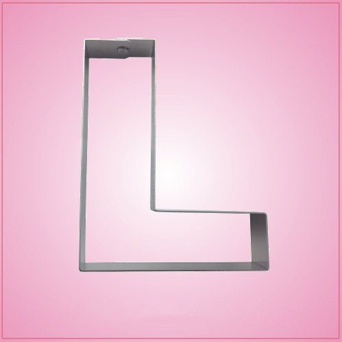 Big Letter L Cookie Cutter