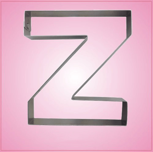 Letter Z Pictures.Big Letter Z Cookie Cutter