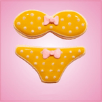 Bikini Cookie Cutter Set