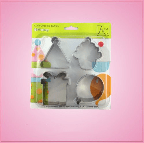 Birthday Cookie Cutter Set