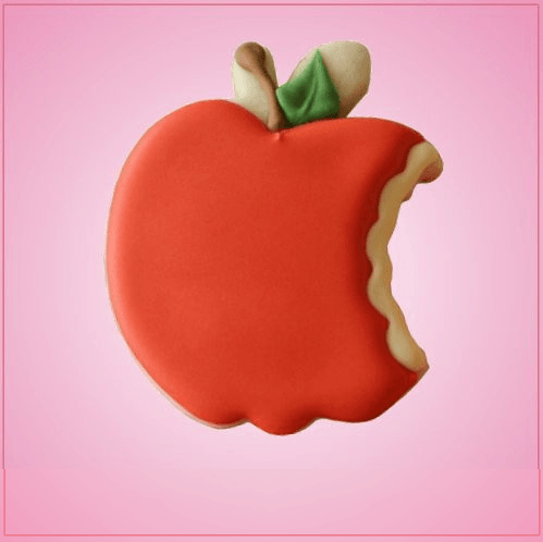 Bitten Apple Cookie Cutter