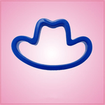 Blue Cowboy Hat Cookie Cutter