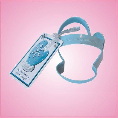 Blue Mitten Cookie Cutter With Handle