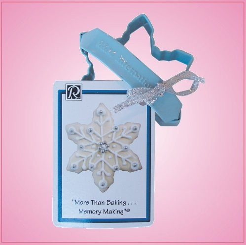 Blue Snowflake Cookie Cutter With Handle