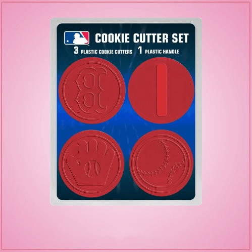 Boston Red Sox Cookie Cutter Set