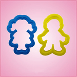 Boy and Girl Cookie Cutter Set