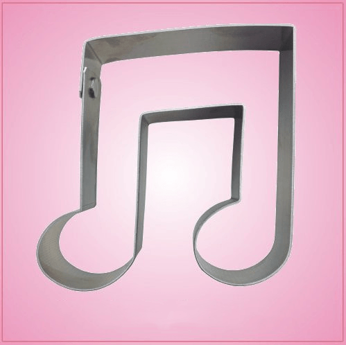 Bridged Music Note Cookie Cutter