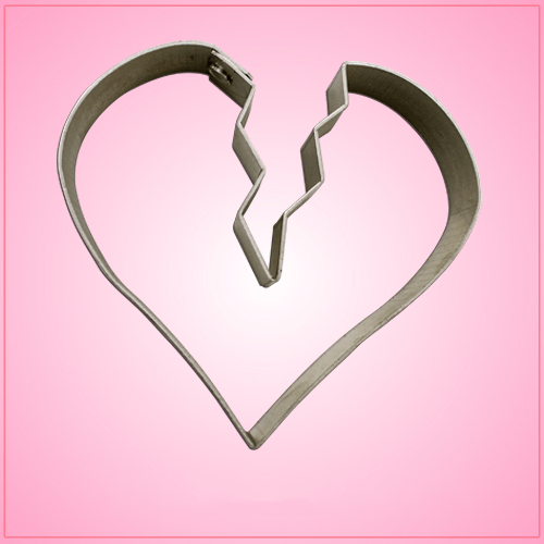 Broken Heart Cookie Cutter