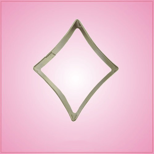 Card Suit Diamond Cookie Cutter