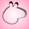 Cartoon Pig Head Cookie Cutter