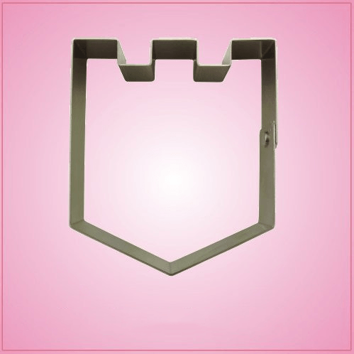 Castle Top Shield Cookie Cutter