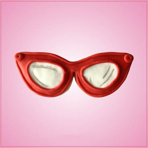 Cat Eye Glasses Cookie Cutter