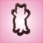 Cat Pouncing Cookie Cutter