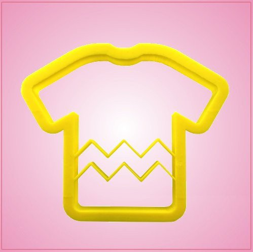 Chevron Shirt Cookie Cutter