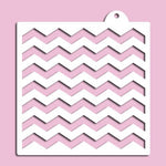 Chevron Stripes Stencil