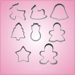 Christmas 8 Piece Cookie Cutter Set