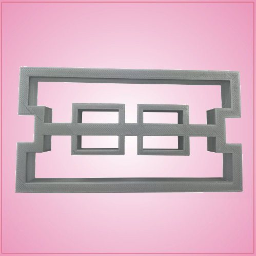 Cinder Block Cookie Cutter