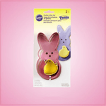 Colorful Peep Cookie Cutter Set