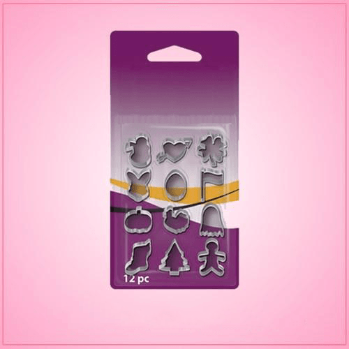 Tiny Holiday Cookie Cutter Set