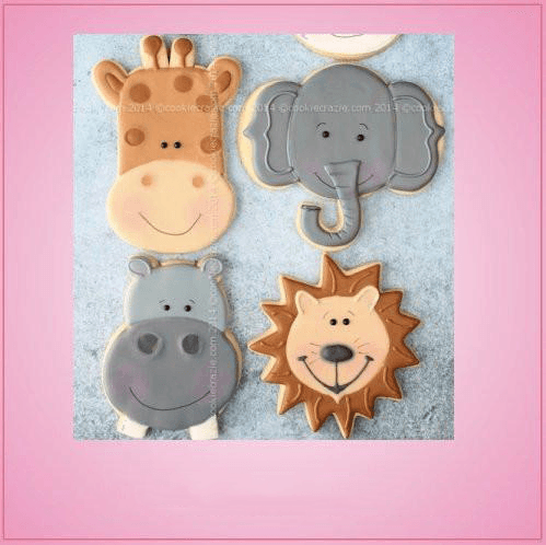 Crazy Jungle Cookie Cutter Set