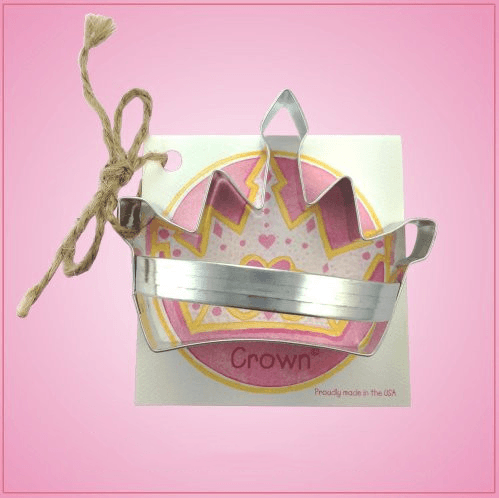 Crown Cookie Cutter with Handle