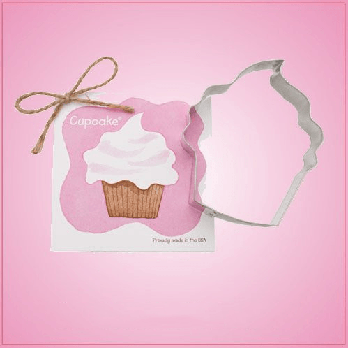 Cupcake Cookie Cutter With Recipe Card