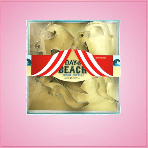 Day At The Beach Cookie Cutter Set