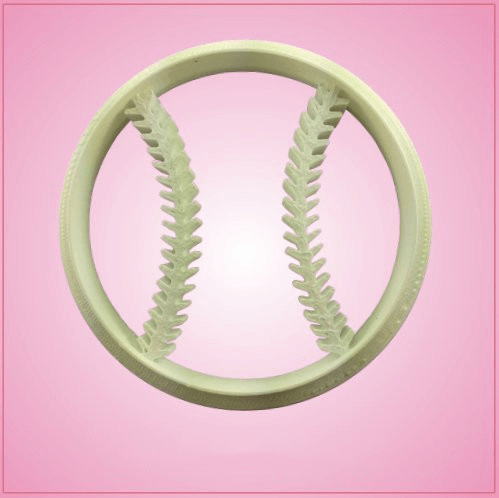 Detailed Baseball Cookie Cutter