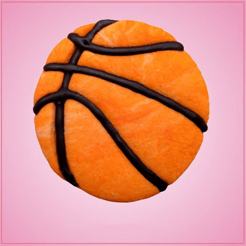 Detailed Basketball Cookie Cutter
